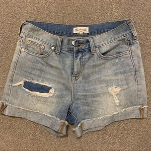 Madewell Boyfriend Denim Shorts